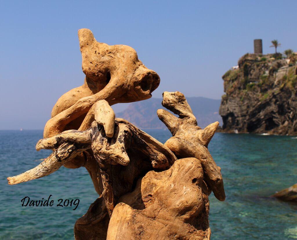 """Davide, """"Forme sfuggenti #33 – Baia di Vernazza"""", Vernazza (La Spezia, Liguria – Cinque Terre, Italia), giugno 2019. © Davide Tansini"""