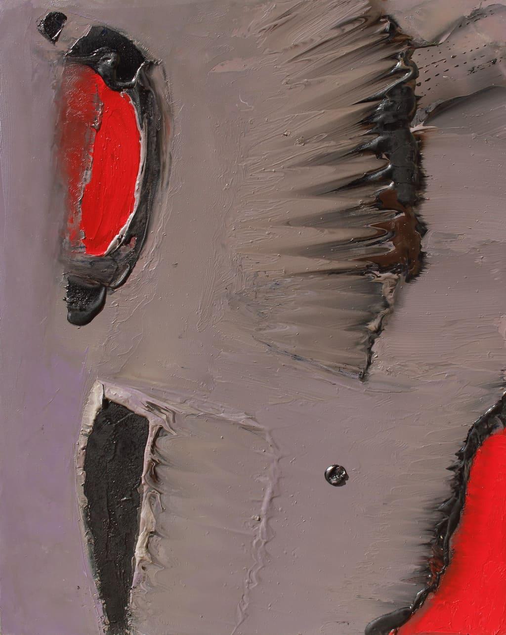 """Erminio Tansini, """"Senza titolo"""", 2000, olio su tavola, 50x40 cm. © Erminio Tansini"""