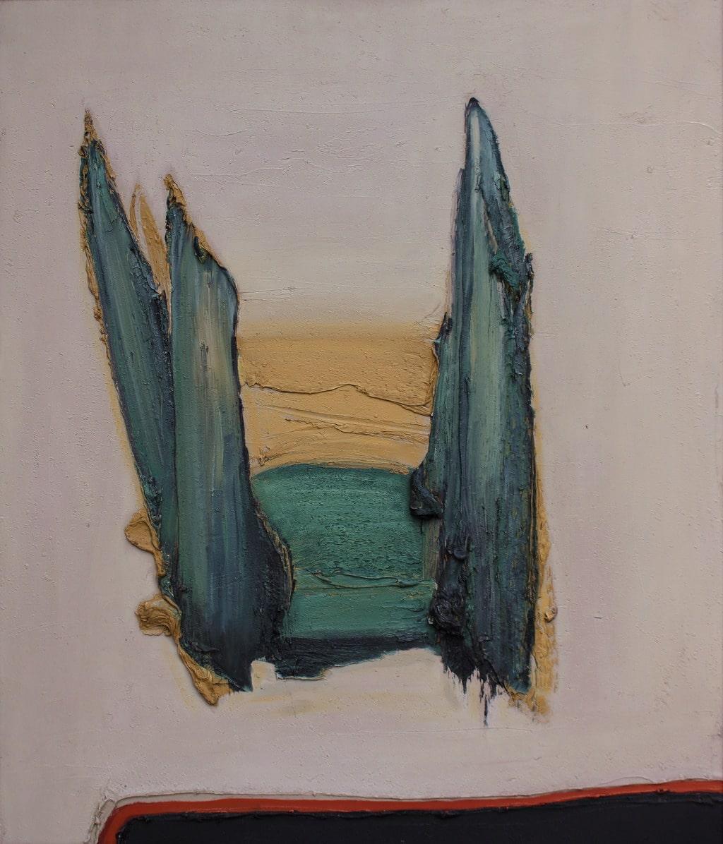 """Erminio Tansini, """"Senza titolo"""", 2008, olio su tavola, 70x60 cm. © Erminio Tansini"""