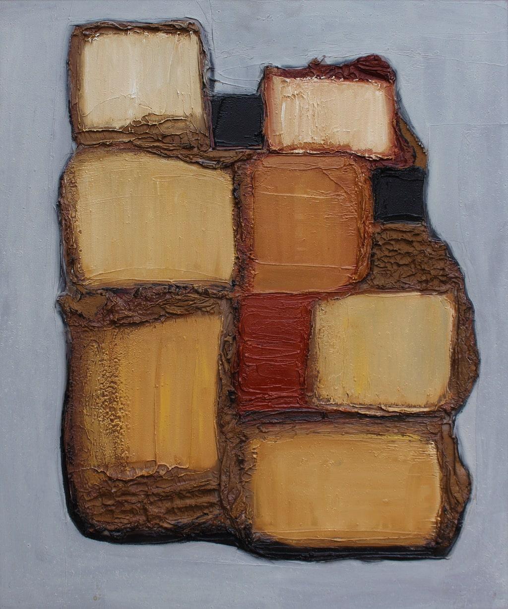 """Erminio Tansini, """"Senza titolo"""", 2009, olio su tavola, 60x50 cm. © Erminio Tansini"""