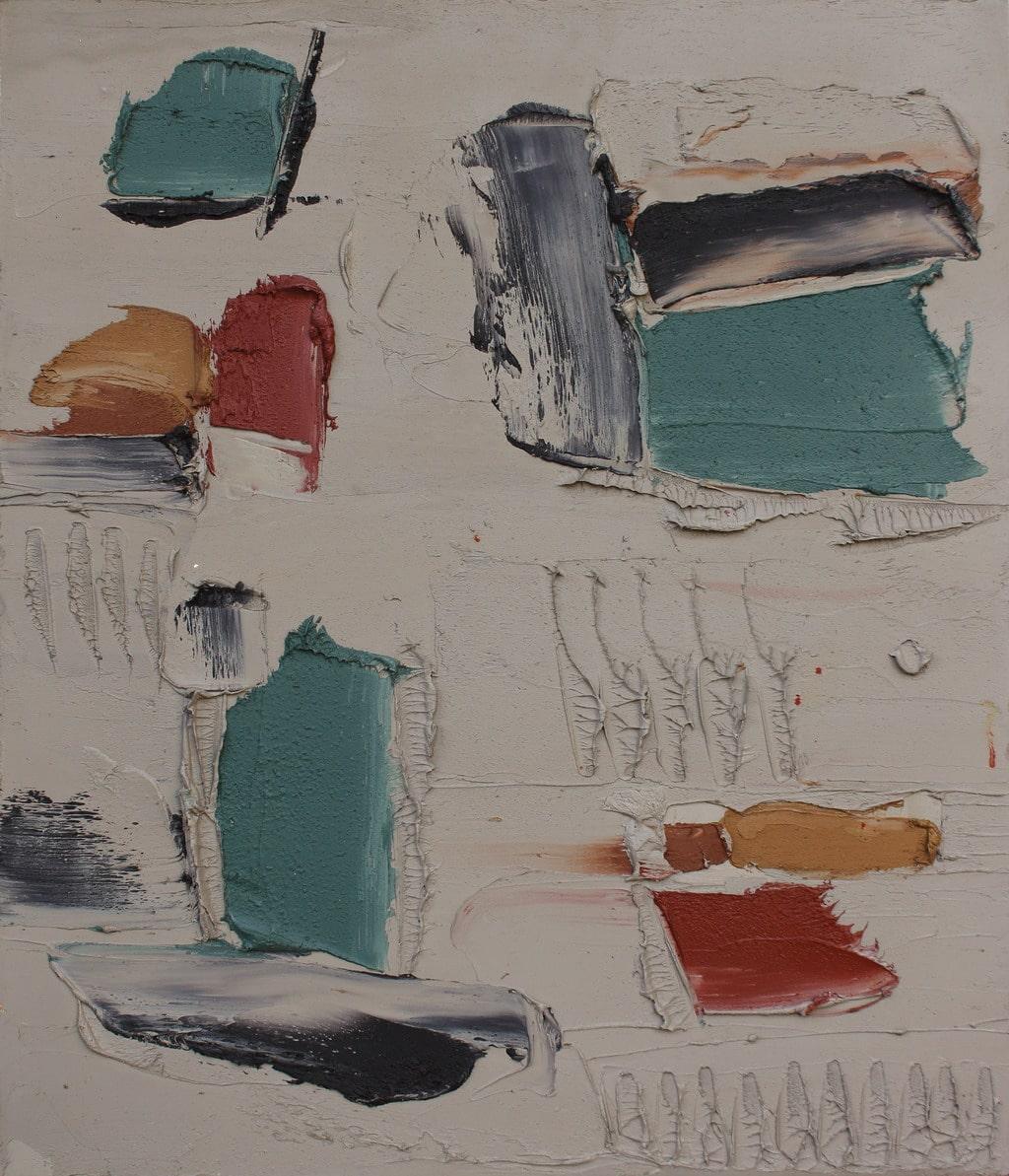 """Erminio Tansini, """"Senza titolo"""", 2011, olio su tavola, 70x60 cm. © Erminio Tansini"""