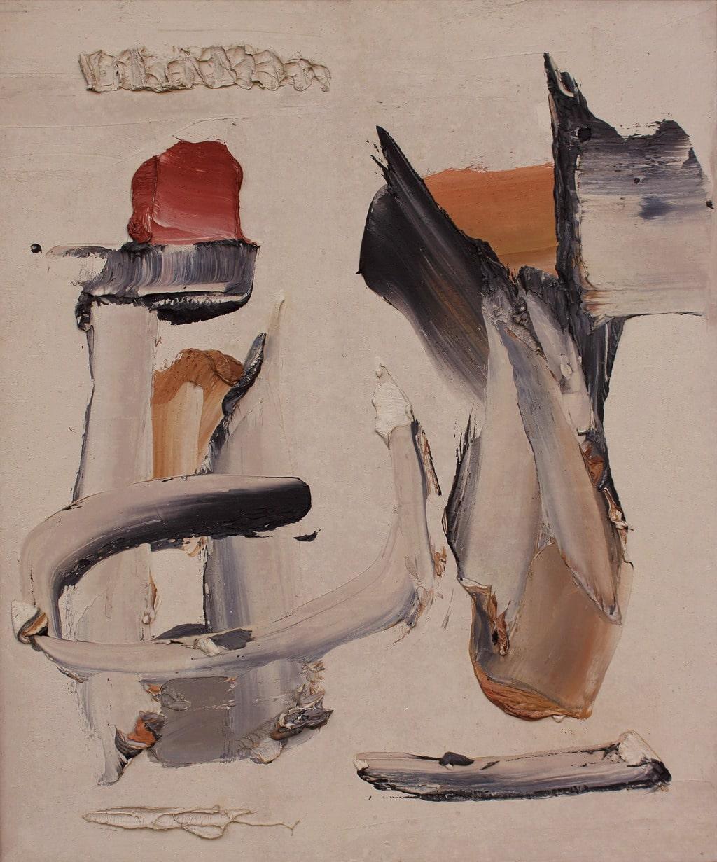 """Erminio Tansini, """"Senza titolo"""", 2012, olio su tavola, 60x50 cm. © Erminio Tansini"""